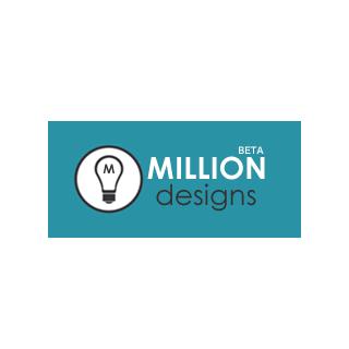 MILLION DESIGNSのロゴマーク