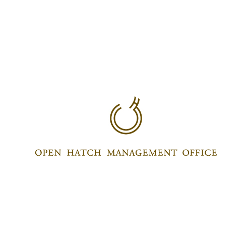 OPEN HATCH MANAGEMENT OFFICEのロゴマーク
