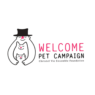 WELCOME PET CAMPAIGNのロゴマーク